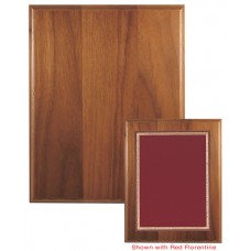 Solid Walnut Board with Step Edge - With Brass Plate